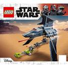 LEGO The Bad Batch Attack Shuttle Set 75314 Instructions