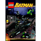 LEGO The Bat-Tank: The Riddler and Bane's Hideout Set 7787 Instructions
