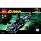 LEGO The Batboat: Hunt for Killer Croc Set 7780 Instructions
