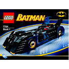 LEGO The Batmobile: Ultimate Collectors' Edition Set 7784 Instructions