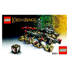 LEGO The Battle of Helms Deep Set 50011 Instructions