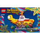 LEGO The Beatles Yellow Submarine Set 21306 Instructions