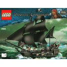 LEGO The Black Pearl Set 4184 Instructions