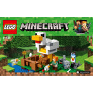 LEGO The Chicken Coop Set 21140 Instructions