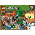 LEGO The Creeper Mine Set 21155 Instructions