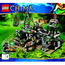 LEGO The Croc Swamp Hideout Set 70014 Instructions