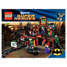 LEGO The Dynamic Duo Funhouse Escape Set 6857 Instructions