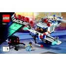 LEGO The Flying Flusher Set 70811 Instructions