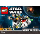 LEGO The Ghost Microfighter Set 75127 Instructions