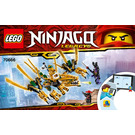 LEGO The Golden Dragon Set 70666 Instructions