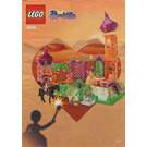 LEGO The Golden Palace Set (Blue Box) 5858-1