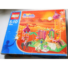 LEGO The Golden Palace Set (Blue Box) 5858-1 Packaging