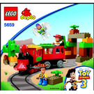 LEGO The Great Train Chase Set 5659 Instructions