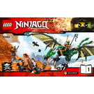 LEGO The Green NRG Dragon Set 70593 Instructions