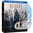 LEGO The Hobbit - The Battle of the Five Armies DVD/Blu-ray with 2 minifigs (LOTRDVDBD3)