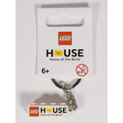 LEGO The House 2x4 brick Keychain (853712)