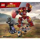 LEGO The Hulkbuster Smash-Up Set 76104 Instructions