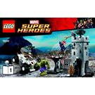 LEGO The Hydra Fortress Smash Set 76041 Instructions