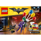 LEGO The Joker Balloon Escape Set 70900 Instructions