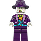 LEGO The Joker with Dark Purple Hat Minifigure