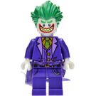 LEGO The Joker with Wide Grin Minifigure without Neck Bracket
