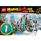 LEGO The Legendary Flower Fruit Mountain Set 80024 Instructions