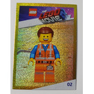 LEGO The LEGO Movie 2, Card #02 - Emmet