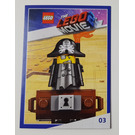 LEGO The LEGO Movie 2, Card #03 - MetalBeard
