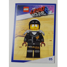 LEGO The LEGO Movie 2, Card #05 - Scribble Cop