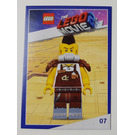 LEGO The LEGO Movie 2, Card #07 - Larry the Barista