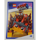 LEGO The LEGO Movie 2, Card #08 - Ultrakatty
