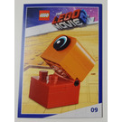 LEGO The LEGO Movie 2, Card #09 - Duplo Alien