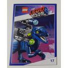 LEGO The LEGO Movie 2, Card #17 - Raptor