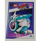 LEGO The LEGO Movie 2, Card #20 - Sweet Mayhem's Systar Starship