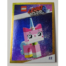 LEGO The LEGO Movie 2, Card #22 - Unikitty