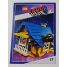 LEGO The LEGO Movie 2, Card #27 - Emmet's Rescue Rocket
