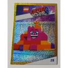 LEGO The LEGO Movie 2, Card #28 - Queen Watevra Wa'Nabi as Pile of Bricks