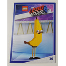 LEGO The LEGO Movie 2, Card #30 - Banarnar