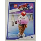 LEGO The LEGO Movie 2, Card #32 - Ice Cream Cone
