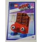 LEGO The LEGO Movie 2, Card #33 - Chocolate Bar