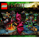 LEGO The Lonely Mountain Set 79018 Instructions