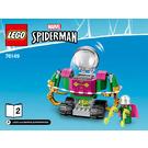 LEGO The Menace of Mysterio Set 76149 Instructions