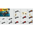 LEGO The Mini Batmobile Set 30521 Instructions