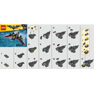 LEGO The Mini Batwing Set 30524 Instructions