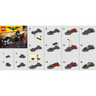 LEGO The Mini Ultimate Batmobile Set 30526 Instructions