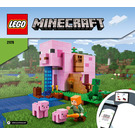 LEGO The Pig House Set 21170 Instructions