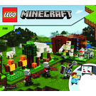 LEGO The Pillager Outpost Set 21159 Instructions