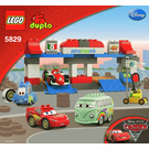 LEGO The Pit Stop Set 5829 Instructions