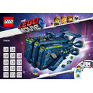 LEGO The Rexcelsior! Set 70839 Instructions