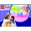 LEGO The Royal Wedding Coach Set 5877 Instructions